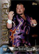2017 Legends of WWE (Topps) Bam Bam Bigelow 9