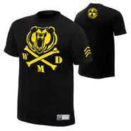 Big Show Crossbones Authentic T-Shirt