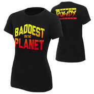 Ronda Rousey Baddest On The Planet Women's Authentic T-Shirt
