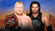 SS 2018 Lesnar v Reigns