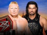 SummerSlam 2018 Brock Lesnar v Roman Reigns