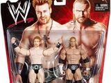 WWE Battle Packs 9 Sheamus & Triple H