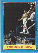 1987 WWF Wrestling Cards (Topps) Taking A Bow 65