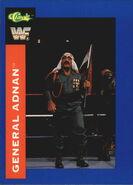 1991 WWF Classic Superstars Cards General Adnan 34