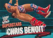 2001 WWF WrestleMania (Fleer) Chris Benoit 6