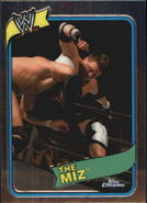 2008 WWE Heritage III Chrome Trading Cards The Miz 35