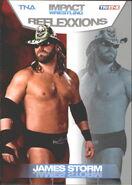 2012 TNA Impact Wrestling Reflexxions Trading Cards (Tristar) James Storm 5