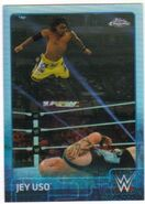2015 Chrome WWE Wrestling Cards (Topps) Jey Uso 36