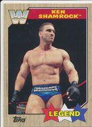 2017 WWE Heritage Wrestling Cards (Topps) Ken Shamrock 80