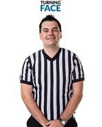 Referee Ed Dyer