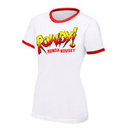 Ronda Rousey Rowdy Ronda Rousey Women's Authentic T-Shirt