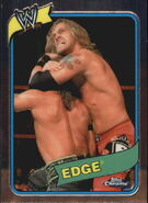 2008 WWE Heritage III Chrome Trading Cards Edge 7