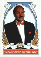2008 WWE Heritage IV Trading Cards (Topps) Mean Gene Okerlund 86