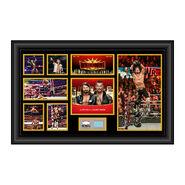 AJ Styles WrestleMania 35 Signed Commemorative Plaque