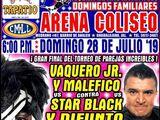 CMLL Guadalajara Domingos (July 28, 2019)