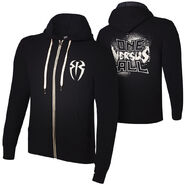 Roman Reigns One Versus All Unisex Lightweight Full-Zip Hoodie Sweatshirt