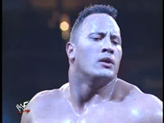 Royal Rumble 2000 The Rock celebrates win