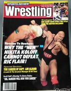 Sports Review Wrestling - May 1987