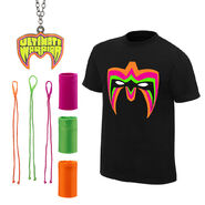 Ultimate Warrior Parts Unknown Halloween Youth T-Shirt Package