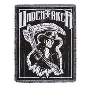 Undertaker The Deadman Tapestry Blanket