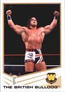 2013 WWE (Topps) The British Bulldog 87
