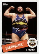 2015 WWE Heritage Wrestling Cards (Topps) Earthquake 14