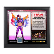 Bayley Raw Debut 2016 15 x 17 Framed Plaque w Ring Cavnas
