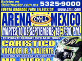 CMLL Martes Arena Mexico (September 10, 2019)