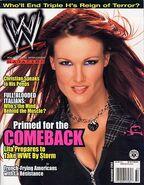 WWE Magazine September 2003