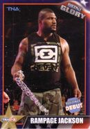 2013 TNA Impact Glory Wrestling Cards (Tristar) Rampage Jackson 5