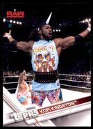 2017 WWE Wrestling Cards (Topps) Kofi Kingston 22