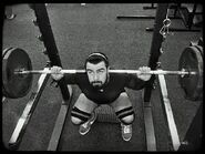 Joe Coffey gym training