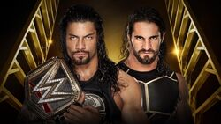 MITB 2016 Reigns v Rollins