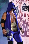 Styles as the TNA Television Champion