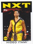 2016 WWE Heritage Wrestling Cards (Topps) Hideo Itami 66