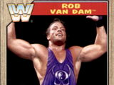 2017 WWE Heritage Wrestling Cards (Topps) Rob Van Dam (No.89)