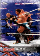 2017 WWE Road to WrestleMania Trading Cards (Topps) Tatanka 63