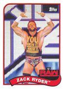2018 WWE Heritage Wrestling Cards (Topps) Zack Ryder 90