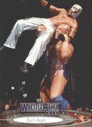 2003 WWE WrestleMania XIX (Fleer) Kurt Angle 4