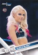 2017 WWE Wrestling Cards (Topps) Alexa Bliss 36