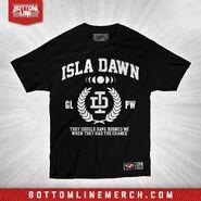 Isla Dawn Burned Me Shirt