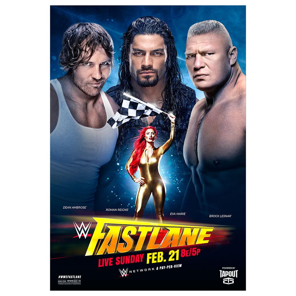 WWE Fast Lane 2016 Poster | Pro Wrestling | FANDOM powered by Wikia
