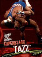 2001 WWF WrestleMania (Fleer) Tazz 26