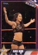 2013 TNA Impact Glory Wrestling Cards (Tristar) Gail Kim 12