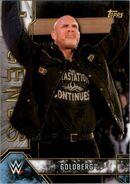 2017 Legends of WWE (Topps) Goldberg 2