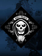 Aces & Eights (Skull Bandana)