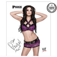 Paige Signed NXT Photo