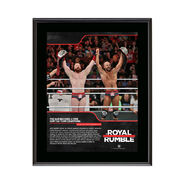 The Bar Royal Rumble 2018 10 x 13 Commemorative Photo Plaque