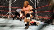 Triple H vs Ric Flair (Cage) 3