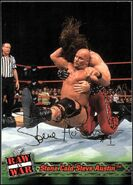 2001 WWF RAW Is War (Fleer) Stone Cold Steve Austin 1